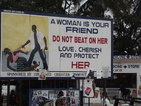 Ära löö naist!
