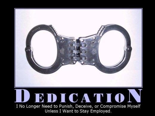 Demotivational: dedication
