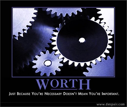 Demotivational: worth