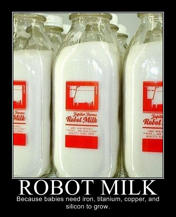 Laste kasvatamine - Robotpiim