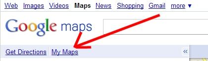 Google Maps : My Maps