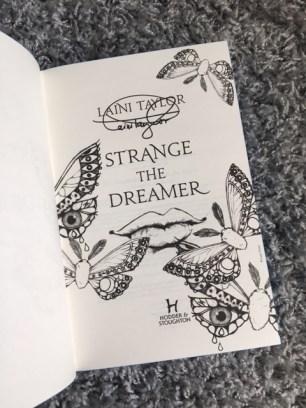 Strange The Dreamer 2