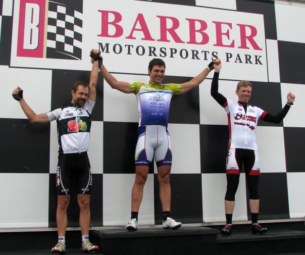 2009 Barbers Ride to Live Circuit Race Pro/1/2/3 Podium