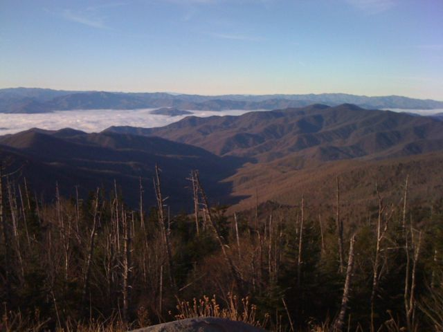 Another view from the Clingman's Dome parking lot