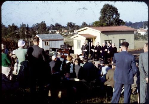 1953 July Dedication stones