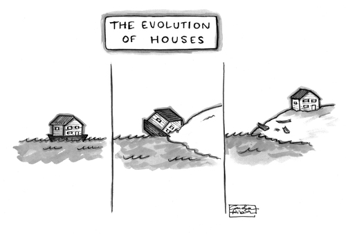 The Evolution Of Houses By A Zillion Dollars Comics