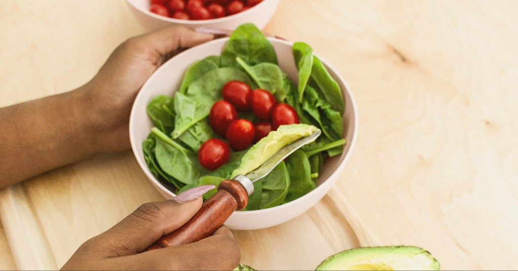 Salads are great as quick healthy dinners