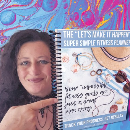 The Super Simple Fitness Planner will help you reach your SMART fitness goals in no time