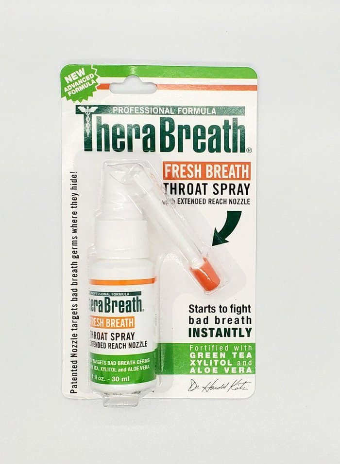 therabreath throat spray review