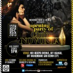 """Delectable Soundcity VJ """"ADAMS"""" Hosts The Opening Party Of Club Novonia!"""