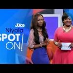 "VIDEO: Niyola on The Juice's ""Spot ON!"" (Interview + Performance)"