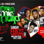 "Korede Bello, Emma Nyra, Kiss Daniel to perform at ""One Mic Naija"" Hearts & Music"