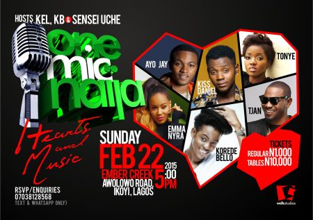 One Mic Naija Feb 2015