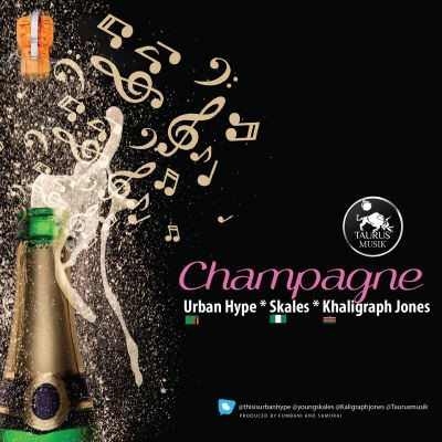 Champagne Art Work
