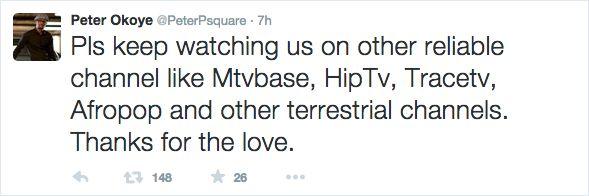 P-Square Tweet 2