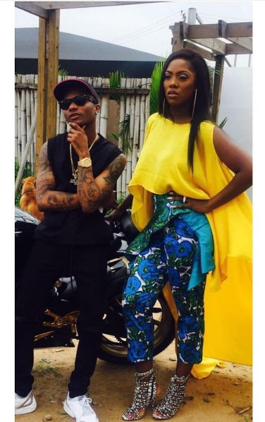 Watch Moment Tiwa Savage Begged Wizkid To Grab Her Butt On Stage But He Refused 1
