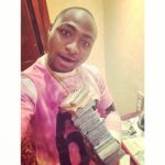 Davido Spends N2.5milion On Drinks, Shares Proof