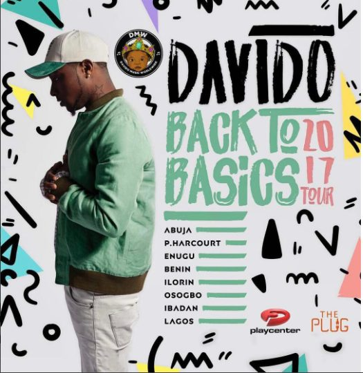 Davido Set To Tour 8 States In Nigeria