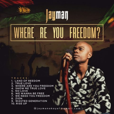 JayMan – Where Are You Freedom (L.P)