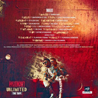 "Masterkraft Releases ""Unlimited Tape"" Tracklist & Cover Art"