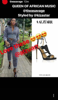 I'm The Queen Of African Music – Tiwa Savage Declares