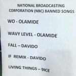 NBC Bans Olamide, Davido, 9ice's Songs | More Details On The Ban.