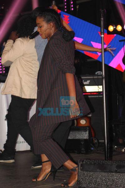 3 - Adekunle Gold's Mum, Darey, Falz & More Attend Simi's #SIMISOLAtheALBUM Launch