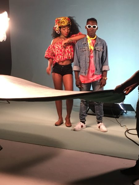 IMG 2050 e1505308098453 - BTS PHOTOS: Omihanifa – Wave Remix f. Olamide