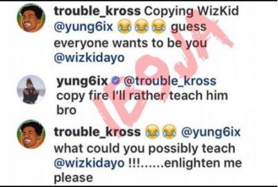 I'd Rather Teach Wizkid, Than Copy Him - Yung6ix