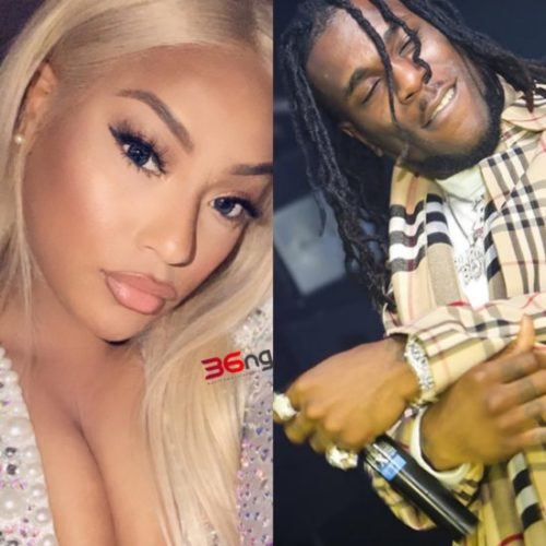 Burna Boy & Stefflon Don Lock Lips As They Celebrate One Year Of Dating « tooXclusive