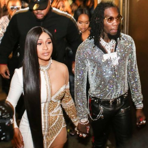 Watch Cardi B Shed Tears As Offset Current Her With Diamond Rings Value Over 100 Million On her Birthday