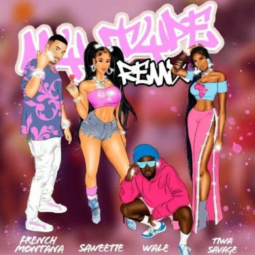 "Saweetie – ""My Type (Remix)"" ft. French Montana, Wale, Tiwa Savage"