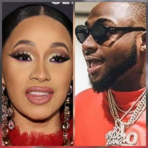 Cardi B Thanks Davido After He Ordered That 20 Bottles Of Luxury Champagne Worth 7 Million Be Given To Her At Lagos Night Club « tooXclusive