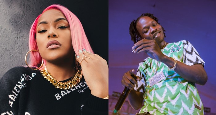 "Burna Boy's Girlfriend, Stefflon Don & Sisters Give Amazing Dance Steps To Naira Marley's ""Tesumole""