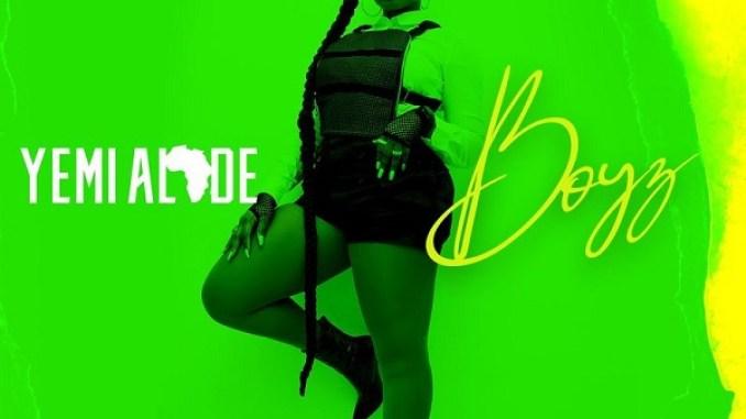 """Yemi Alade – """"Boyz"""" (Prod. by Vtek)"""