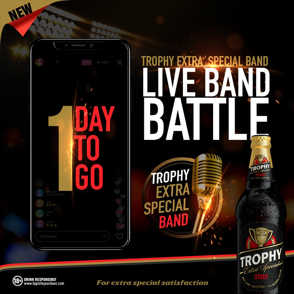 Top Six Emerge in International Breweries Plcs Trophy Stout Live Band ONLINE Battle « tooXclusive