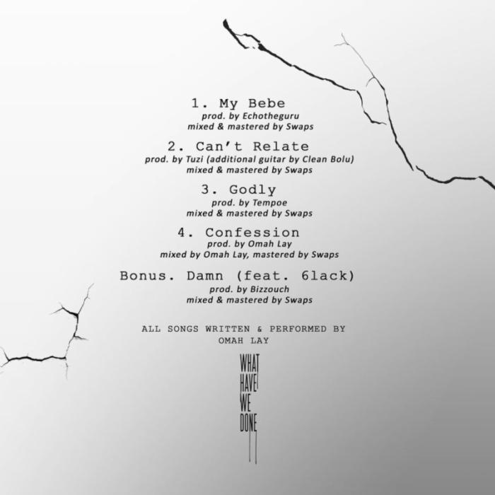 Omah Lay WHWD Tracklist