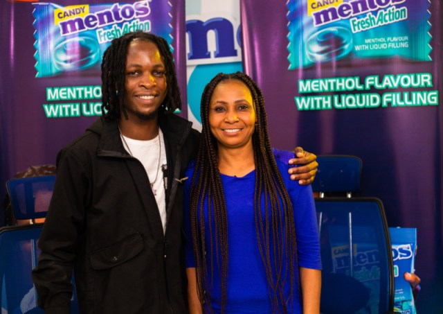 Laycon, BBN winner rewards winners with Phones for Mentos Fresh Action Candy 1