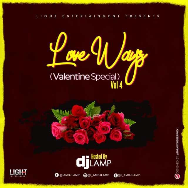 DJ Lamp Love Always Vol. 4 (Valentine Special)