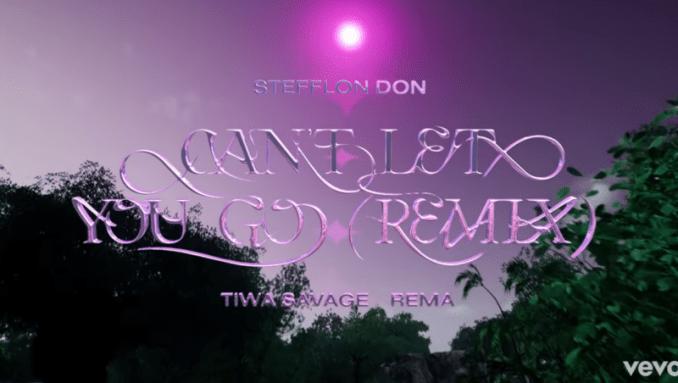 Stefflon Don Can't Let You Go Remix