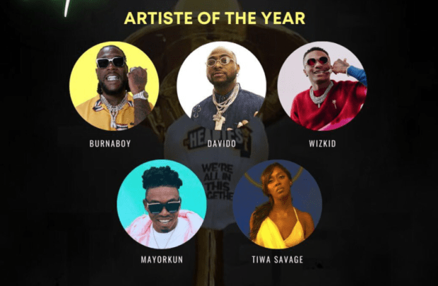 """All You Need To Know About Headies """"Artiste Of The Year"""" Award (2006-2021) 1"""