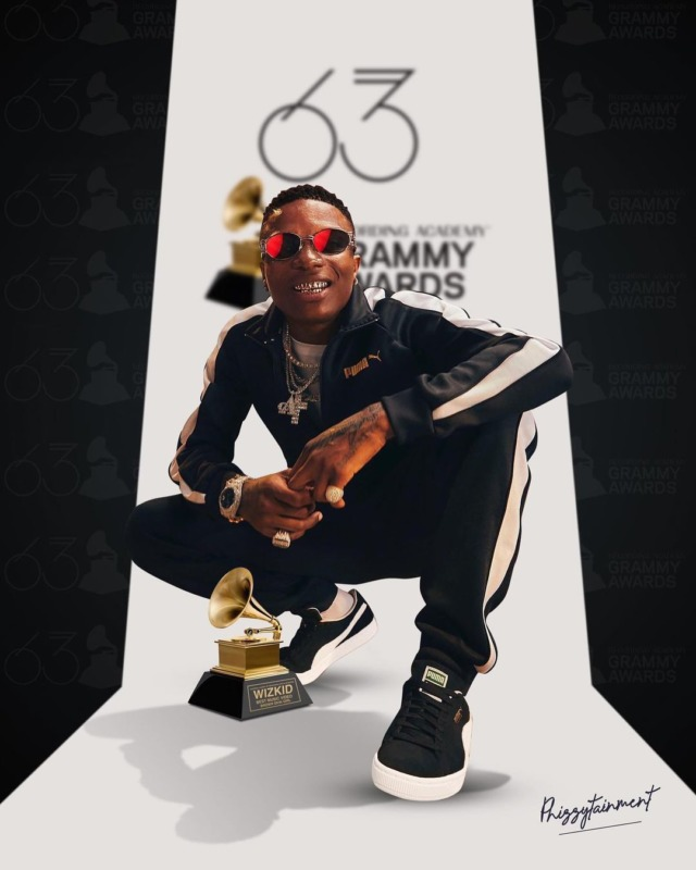 Wizkid Can't Be Addressed As a 'Grammy Award Winning Artiste' Yet!… Here's Why 1