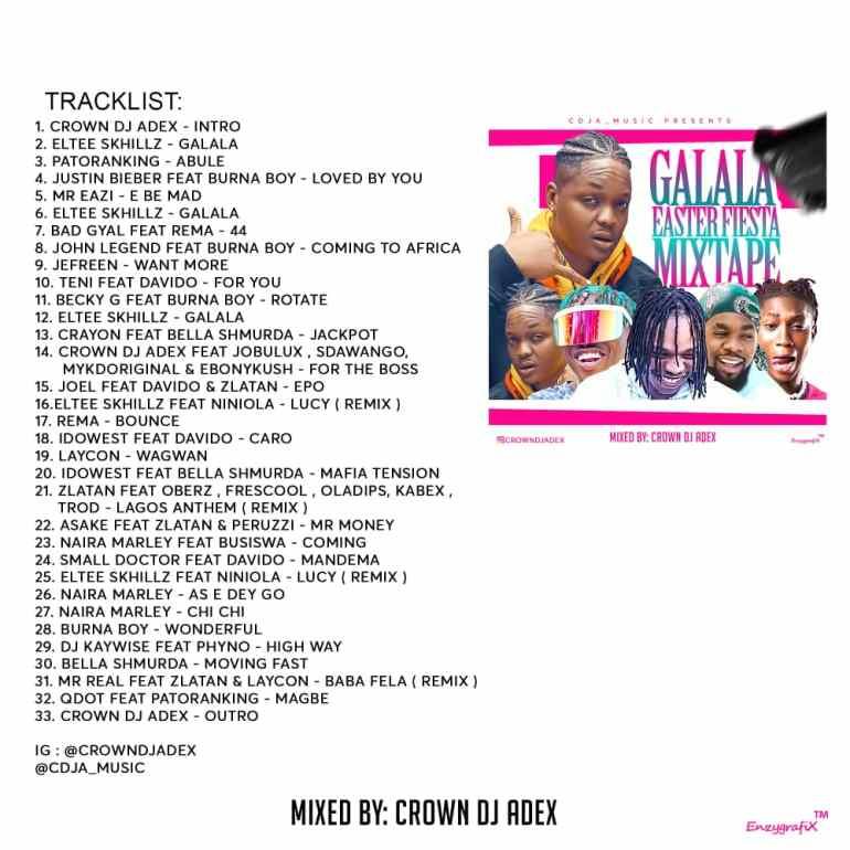 Naija Party Mix April