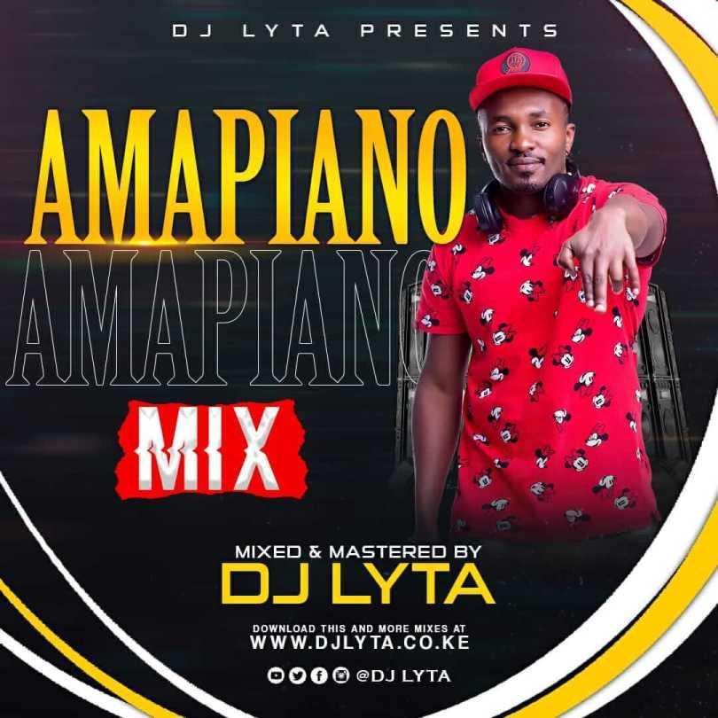 dj lyta amapiano mix 2021 artwork