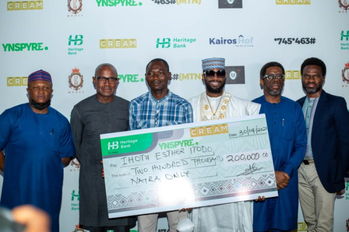 D'banj's CREAM Platform And Heritage Bank Dole Out Millions At April 2021 Draw As New Winners Emerge 18