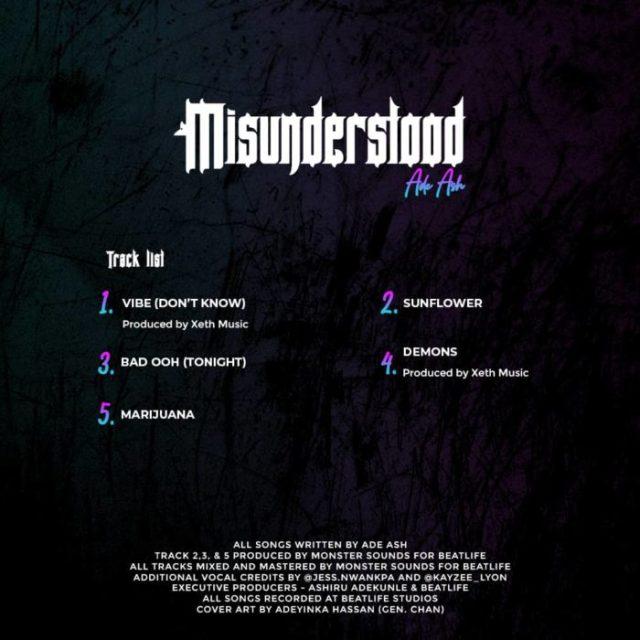 "[EP] Ade Ash – ""Misunderstood"" 2"