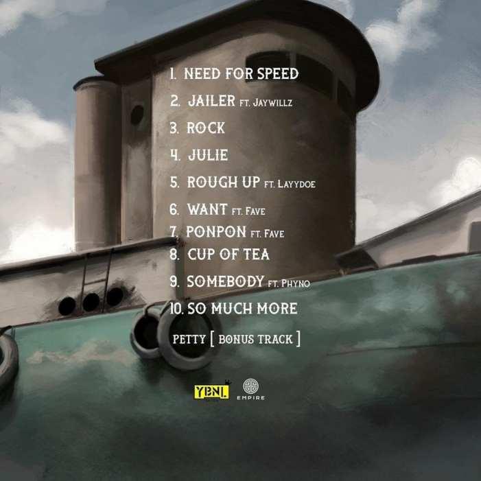 UY Scuti Tracklist