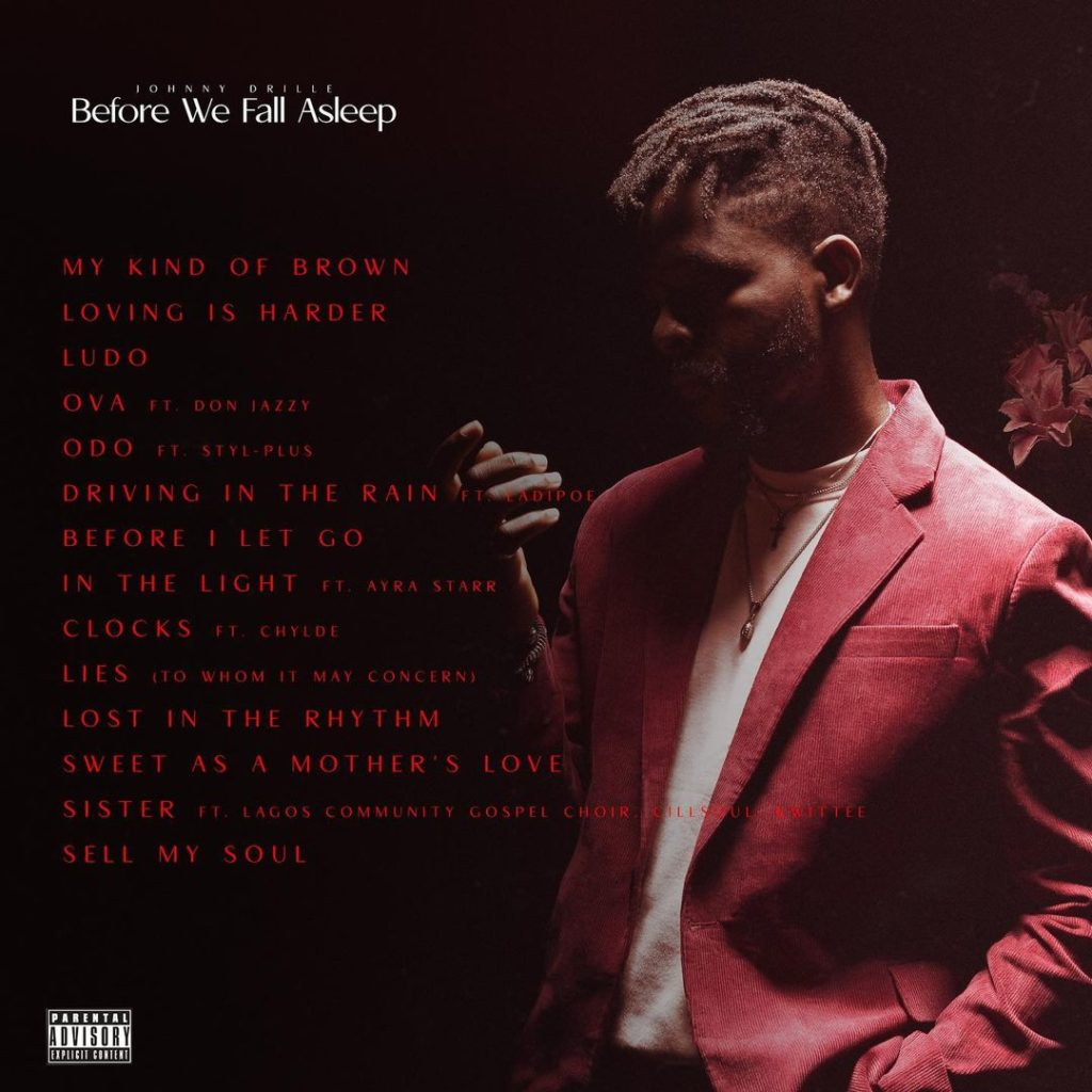 Johnny Drille Drops His Highly Anticipated 'Before We Fall Asleep' Album.