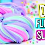 DIY fluffy slime