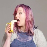 100 People Seductively Eat a Banana